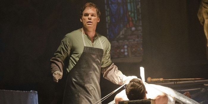 dexter morgan killing one of his victims